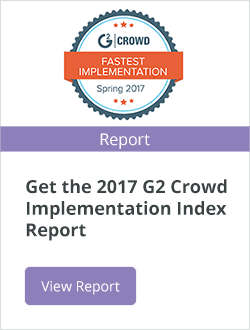 G2 Crowd Implementation Index Report